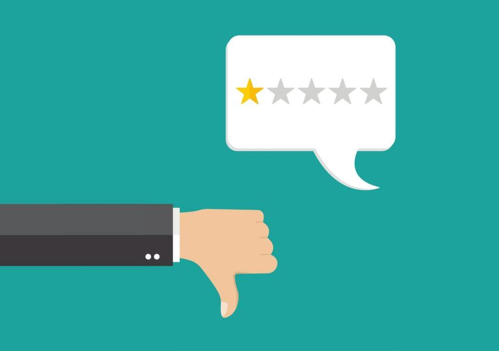 how to respond to negative patient reviews doctor dentist header